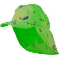 Boné Legionário Praia Baby 2A Uv Mormaii - Unissex-Verde