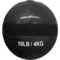 Wall Ball 4 Kg Natural Fitness Treinamento Funcional E Crossfit - Unissex