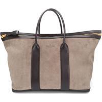 Tom Ford Suede Duffle Bag - Neutro