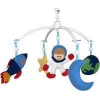 Móbile Musical Astronauta Quarto Bebê Infantil Menina Menino Potinho De Mel