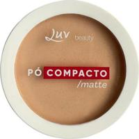 Pó Compacto Matte - Luv Beauty Porcelain - Unissex-Incolor