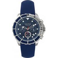 Relógio Nautica Masculino Borracha Azul - Napptr001