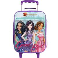 Mochila De Rodinhas Disney Descendentes Good Bad