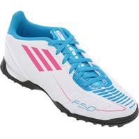 Chuteira Adidas F5 Trx Tf Infantil - Masculino