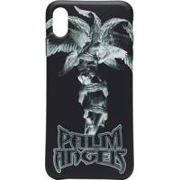 Palm Angels Capa Para Iphone Xs Com Estampa - Preto