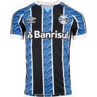 Camisa Do Grêmio I 2020 Umbro - Masculina - Azul/Preto