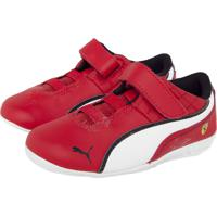 5d0c9aa70 Tênis Couro Puma Infantil Drift Cat 6 Vermelho