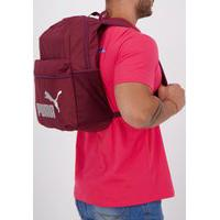 Mochila Puma Phase Backpack Vinho