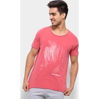 Camiseta Bossa Brasil Meditating Masculina - Masculino-Vermelho