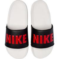 Chinelo Nike Offcourt - Slide - Masculino - Cinza Cla/Preto