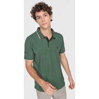 Camisa Polo Aleatory Reta Lisa Verde