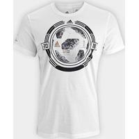 Camiseta Adidas Bola Copa - Masculina - Masculino