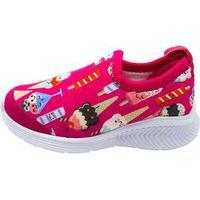 Tênis Infantil Bibi Fly Baby Tecido Estampado Pink 1136049 - Pink - 20 Rosa