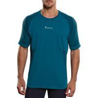 Camiseta Lupo Seamless Masculina - Masculino-Azul Piscina