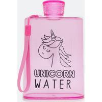 Garrafa Com Alça Estampa Unicorn Water