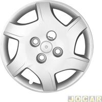 Calota Aro 13 Chevrolet - Grid - Celta 2012 Até 2015 - Prata - Cada (Unidade) - 042Cb-Pta-U