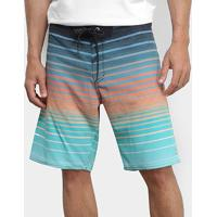 Bermuda Billabong All Day Stripe Pro Masculina - Masculino-Verde+Preto