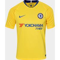 291e558b20 Netshoes; Camisa Chelsea Away 2018 S/N° - Torcedor Nike Masculina -  Masculino
