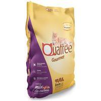Ração Para Gatos Adultos Quatree Gourmet Sabor Mix De Carnes 1Kg