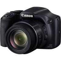 """Câmera Digital Canon Powershot Superzoom Com 16 Mp, Tela De 3"""", Zoom Óptico 50X E Filmagem Em Full Hd - Sx530Hs - N5Sx530Hspto"""