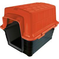 Casinha Plástica Retangular Para Pets 40X41Cm Vermelha