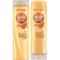 Kit Seda Shampoo + Condicionador Mel Anti-Quebra 325 Ml - Unissex