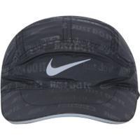 Boné Aba Curva Nike Tailwind Ghost Flash - Strapback - Adulto - Preto 1e0d4a6d1d6