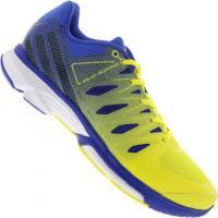 Tênis Adidas Volley Response 2 Boost - Masculino - Amarelo/Azul