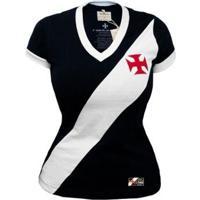 Camisa Retrô Mania Vasco Da Gama 1948 Feminina - Feminino