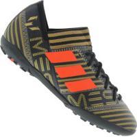 Chuteira Society Adidas Nemeziz Messi Tango 17.3 Tf - Infantil - Preto