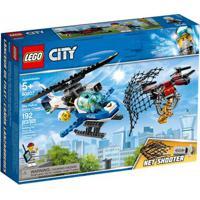 Lego City - Patrulha Aérea Com Drone Lançador - 60207