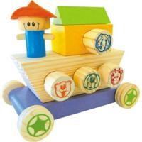 Brinquedo Newart Toys Arca Dos Bichos Multicolorido - Tricae
