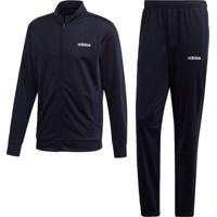 Agasalho Adidas Mts Lin Tric Azul - Kanui