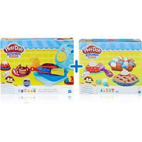 Kit Massas De Modelar - Play-Doh - Kitchen Creations - Café Da Manhã E Tortas Divertidas - Hasbro