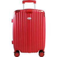 Mala De Viagem Com Rodinha Contempo- Vermelha- 54,5Xjacki Design
