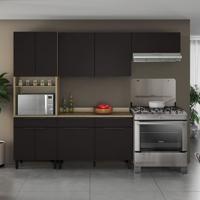 Cozinha Compacta Itamaxi 9 Pt 3 Gv Preta