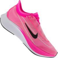 Tênis Nike Zoom Fly 3 - Feminino - Rosa