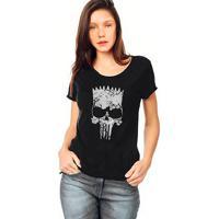 Camiseta Skull Lab Skull Preto