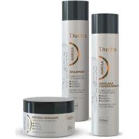 Kit Marula Duetto 1 Shampoo 300Ml +1 Condicionador 300Ml +1 Máscara 280G - Unissex-Incolor