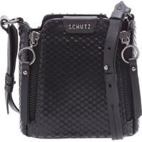 Minibag Zíper Snake Black | Schutz