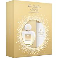 Kit Perfume Feminino Her Golden Secret Antonio Banderas Edt 80Ml + Body Lotion 75Ml - Feminino-Incolor