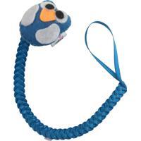Prendedor De Chupeta Fuxicos & Frescuras Linha Bebê Com Coruja Azul Claro
