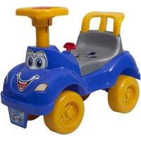 Andador De Empurrar Brinquedos Cardoso - Unissex-Azul