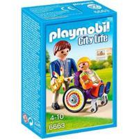 Playmobil City Life Criança Cadeira De Rodas Sunny - Unissex-Incolor