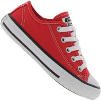 Tênis Converse All Star Chuck Taylor Border - Infantil - Vermelho