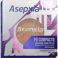 Pó Compacto Asepxia Antiacne Cor Bege Médio Fps20 10G