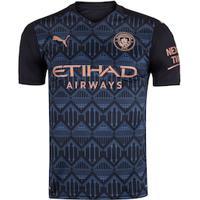 Camisa Manchester City Ii 20/21 Puma - Masculina - Preto