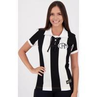 Camisa Atlético Mineiro Retrô 1914 Cordinha Feminina - Feminino