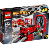 Lego Speed Champions - Ferrari - Centro De Desenvolvimento - Ferrari Fxx K - 75882 - Unissex-Incolor