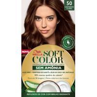 Tintura Soft Color Sem Amônia Castanho Claro 50 Kit